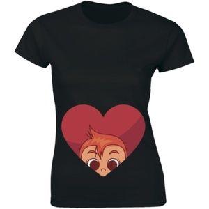 A Heart - Suprise Pregnancy Announcement T-shirt